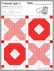 Valentine Math Quilts Color by Code for Multiplication Facts up to 12 x 12