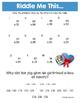 Valentine Math Riddles MEGA Bundle (Save 52%)