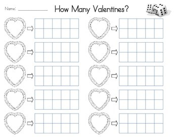 Valentine Math Sheets