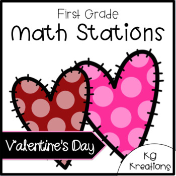 Valentine Math Stations