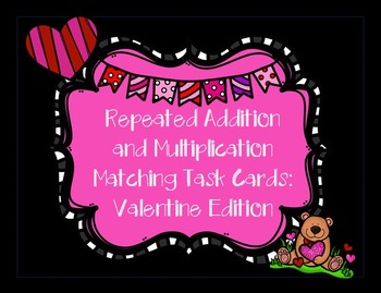 Valentine Math Task Cards