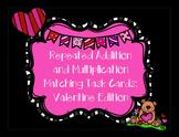 Valentine Math Task Cards