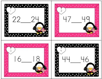Valentine's Day Activities Math Task Cards