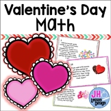 Valentine Math - 2 and 3 Digit Addition and Subtraction - Word Problems