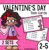 Valentines Day Math Task Cards