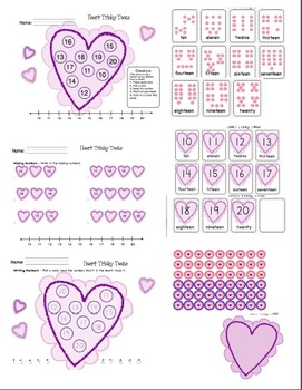 Valentine Math Tricky Teen Heart