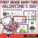Valentine Math Centers - First Grade