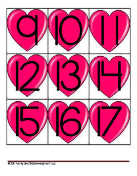 Valentine Math Activities and Lessons for common core standards (kindergarten)