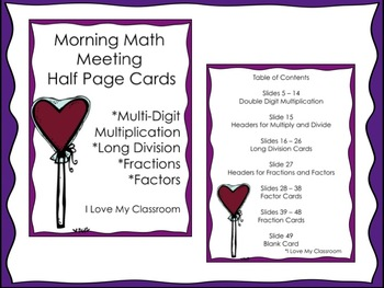 Valentine Math Upper Grade BUNDLE {3 products}