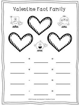 valentine math we love math valentine themed math activities