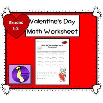 Valentine Math Worksheet