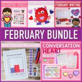 February Activities (Writing, Math, & More) BUNDLE