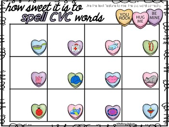 Valentine Math and Literacy Activities using Technology