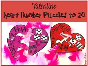 Valentine Math and Literacy Centers