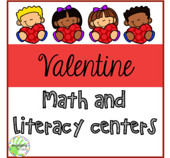 Valentine Math and Literacy Centers