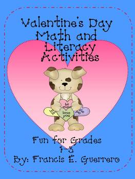 Valentine Math and Literacy Pack