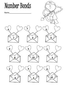 Valentine Math and Literacy Packet