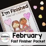 No Prep Valentine's Day Math Math and Literacy Printables