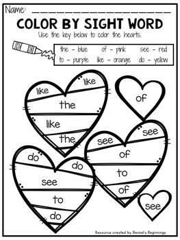 Valentine's Day Math & Phonics