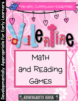 Valentine Math and Reading Thematic Unit