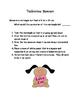 Valentine Math and Writing Activities