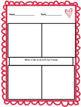 Valentine Math and Writing Fun