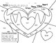Valentine Math- color the picture