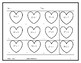 Valentine Math multiplying one-digit by two-digit numbers