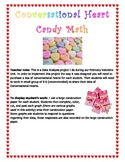 Valentine Math with Conversational Hearts Candy