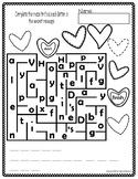 Valentine Maze Freebie