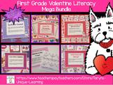 Valentine Mega Bundle- First Grade Literacy