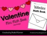 Valentine Mini Math Book (No Prep)