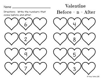 Valentine Mini Math Pack