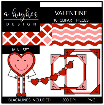 Valentine Mini Set {Graphics for Commercial Use}