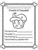Valentine Mini Set: Literacy, Writing, Math Task