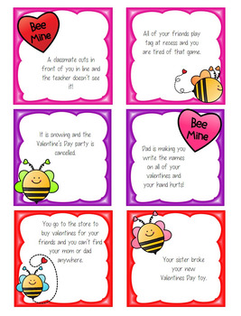 Valentine Mishap - Checking the Size of Your Problems: Freebie