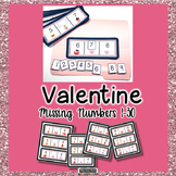 Missing Numbers in a Sequence Valentine