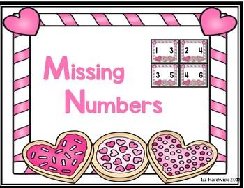 Valentine Missing Numbers