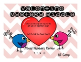 Valentine Mixed Number Mystery Riddle