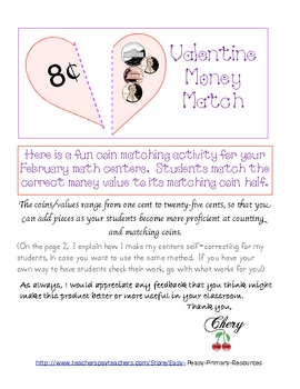 Valentine Money Match