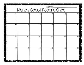 Valentine Money Scoot