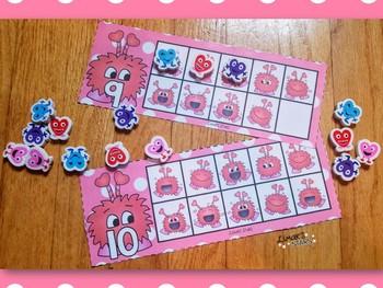 Valentine Monster 10 Frames 1-20