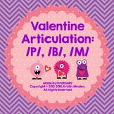 Valentine Monster Articulation-/P, B, M/