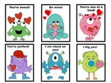 Valentine Monster Cards