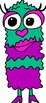 Valentine Monster Clipart Pack