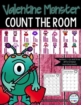 Valentine Monster Count the Room