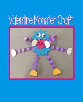 Valentine Monster Craft