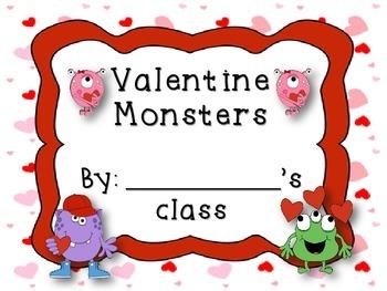 Valentine Monsters Classbook