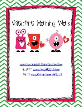 Valentine Morning Work Freebie