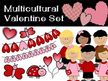 Valentine Multicultural Pack